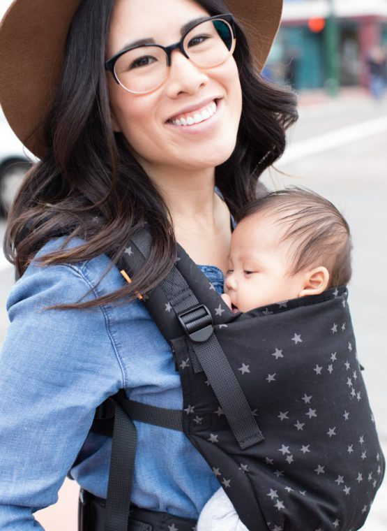 Tula Baby Carrier sling hire rent sling library discover Tula Free-To-Grow tula fre to grow structured padding mesh hot weather cool version twilight tulip adjustable adaptable newborn insert free no free-to-grow sling carrier discover