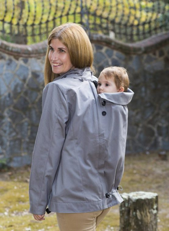 momawo 4-in-1babywearing coat maternity light waterproof warm winter autumn spring insert front back carry sling library sling rental hire jacket