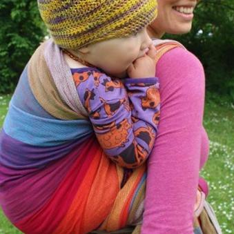Woven Wraps Toddler Carrying
