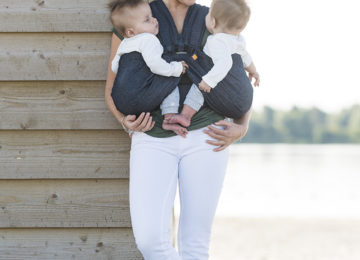 mini monkey minimonkey twin carrier ergonomic newborn baby sling