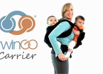 ling hire rent sling library try before you buy twin tandem toddler twingo front back carry baby ruck straps padded