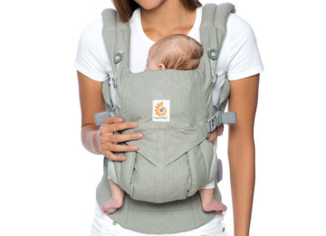 ergobaby omni 360 straps crossed straps ruck front carry
