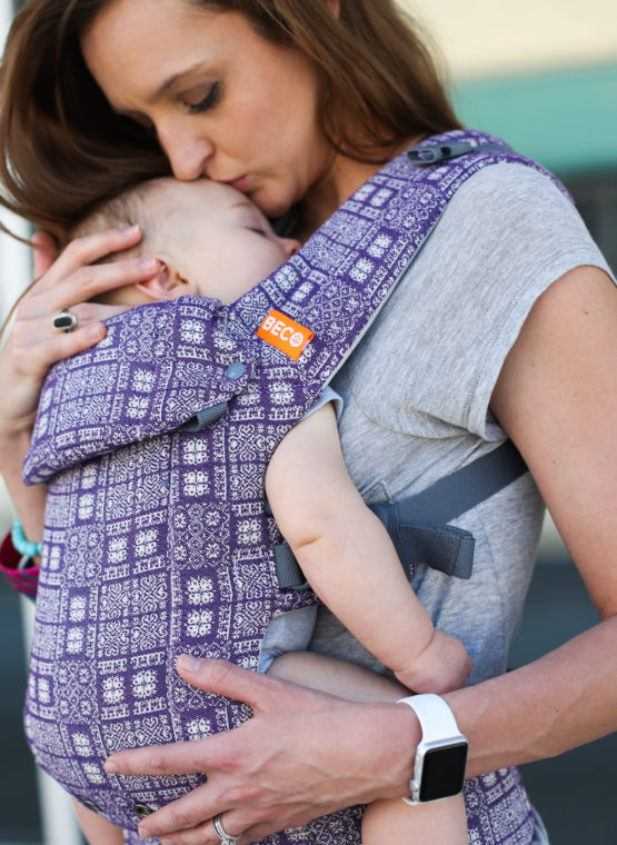 ling hire rent sling library try before you buy baby carrier Beco Gemini - Lika (Woven Fabric) Beco Gemini adaptable adjustable forward facing