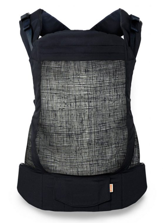 sling library hire rent try before you buy baby sling carrier grey paint brushstrokes beco toddler carrier sling carrier baby black scribble