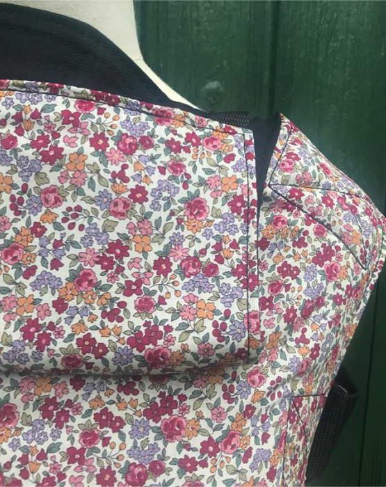 integra fleur connecta unstructured sarah sadler sling baby carrier newborn toddler preschool sling library hire rent try before you buy baby sling carrier