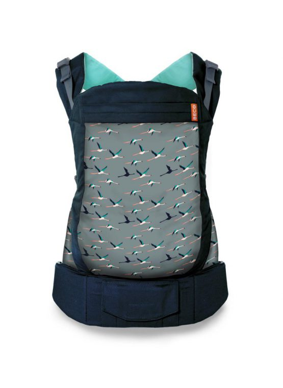 aqua flamingo black beco toddler carrier sling carrier baby