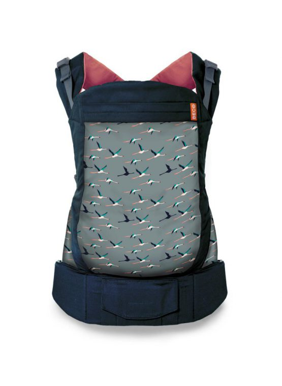 black salmon flamingo beco toddler carrier sling carrier baby
