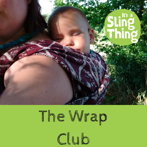 the wrap club sling hire subscription 3 month 6 month rent woven wraps baby newborn blend sizes