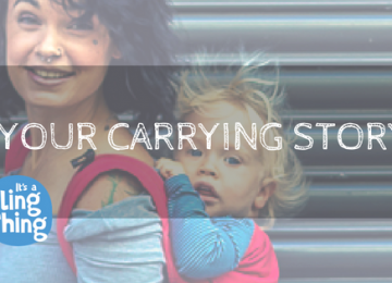 Your Carrying Story neko rainbow unique sunset carrier sling buckle newborn adjustable adaptable sling hire sling library sling rent rental try before you buy