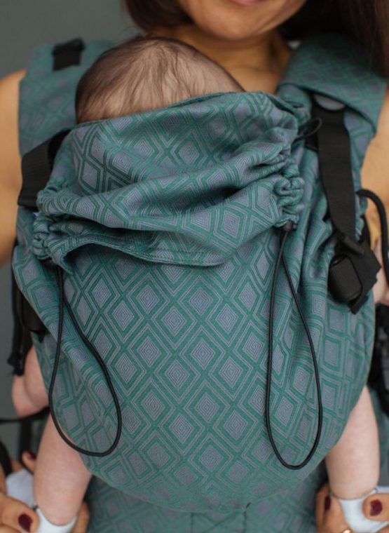neko rainbow unique sunset carrier sling buckle newborn adjustable adaptable sling hire sling library sling rent rental try before you buy lycia clover neko switch adaptable adjustable baby sling carrier