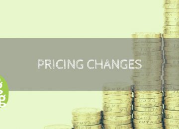 pricing changes